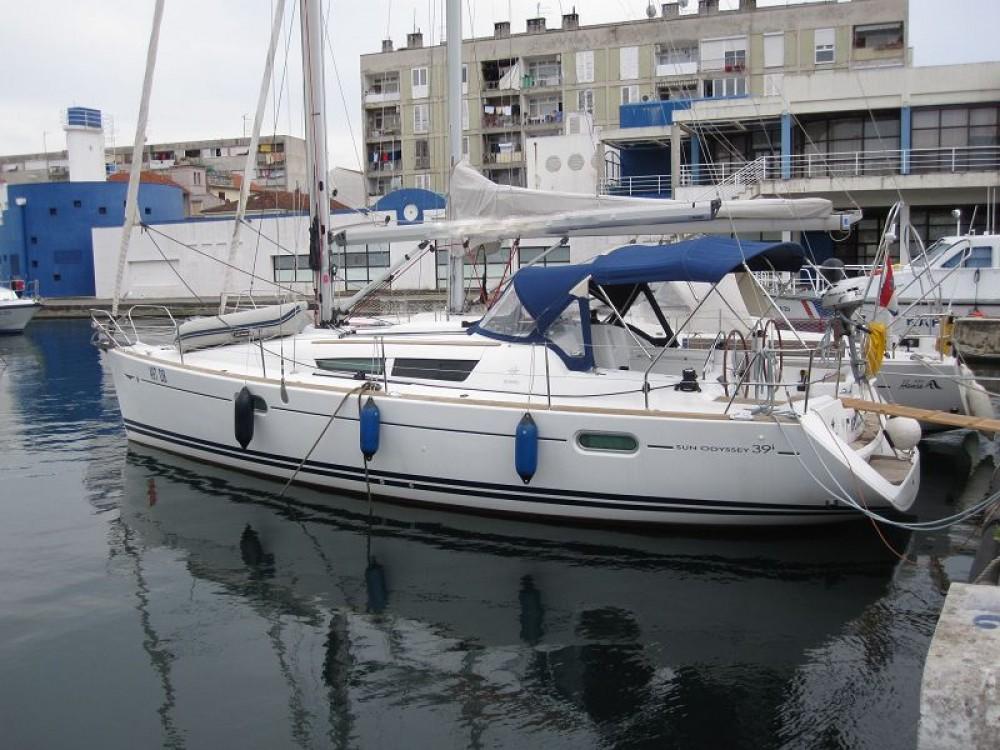 Location bateau Croatie pas cher Sun Odyssey 39i