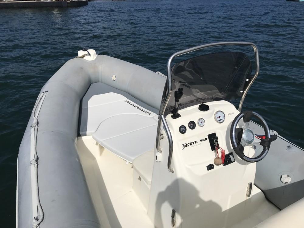 Location bateau Bombard Sunrider 650 à Lège-Cap-Ferret sur Samboat