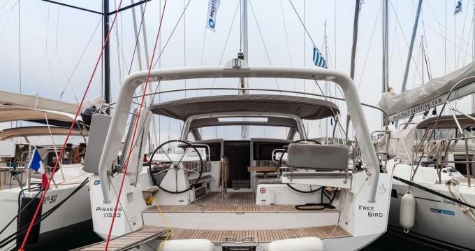 Location bateau Athènes pas cher Beneteau Sense 50 - 3 + 1 cab.