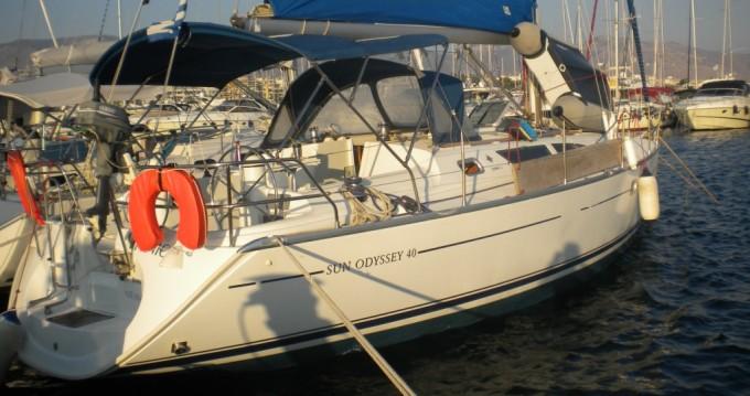 Location bateau Jeanneau Sun Odyssey 40 à Athènes sur Samboat