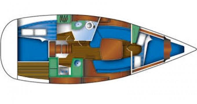 Location yacht à Betina - Jeanneau Sun Odyssey 32 sur SamBoat