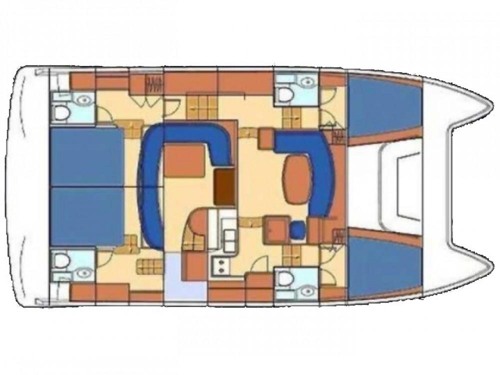 Location Catamaran à Primošten - Lagoon Lagoon Powercat 43