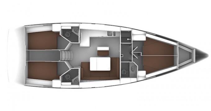 Bavaria Cruiser 46 entre particuliers et professionnel à Cagliari