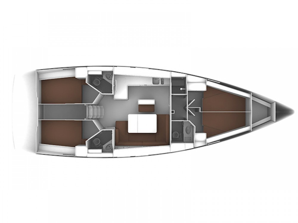 Location bateau Cagliari pas cher Bavaria Cruiser 46
