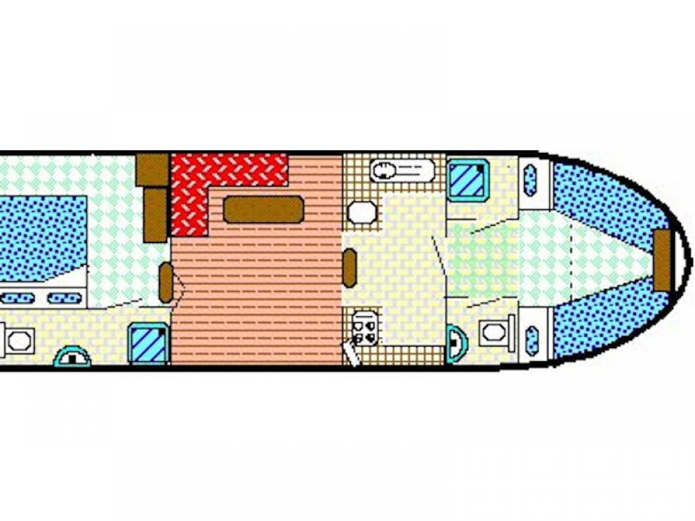 Location Bateau à moteur à Capestang -  EuroClassic 129