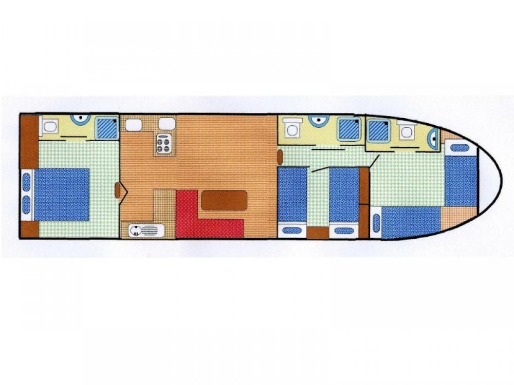 Location Bateau à moteur à Capestang -  EuroClassic 139