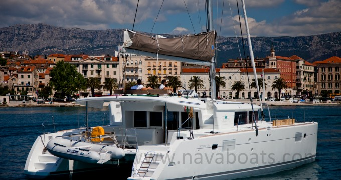 Location bateau Slano pas cher Lagoon 450 (2014) equipped with generator, A/C (saloon)