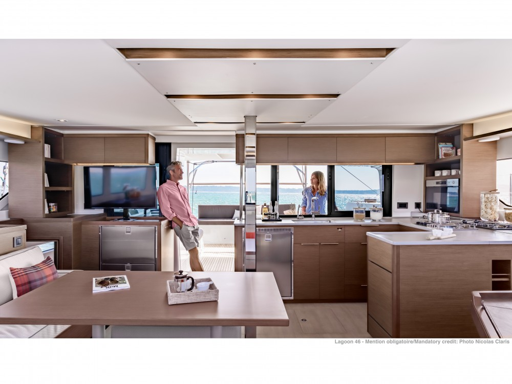 Location yacht à Split - Lagoon Lagoon 46 (2020) equipped with generator, A/C (saloon+cabins), ice maker, microwave oven, dishwasher sur SamBoat