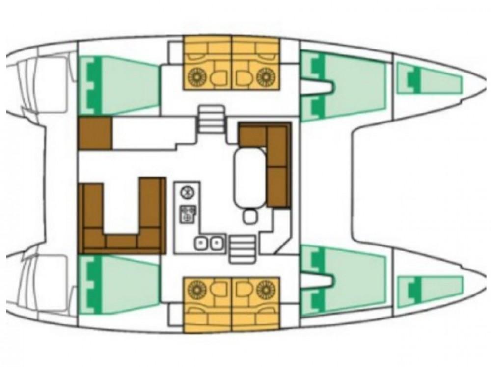 Location Catamaran à Split - Lagoon Lagoon 400