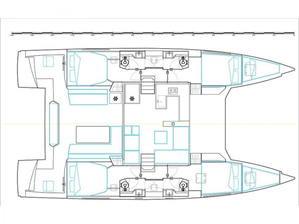 Louer Catamaran avec ou sans skipper Nautitech à Kontokali