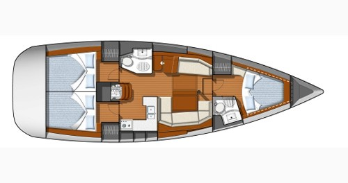 Location yacht à Castiglioncello - Jeanneau Sun Odyssey 42 DS sur SamBoat