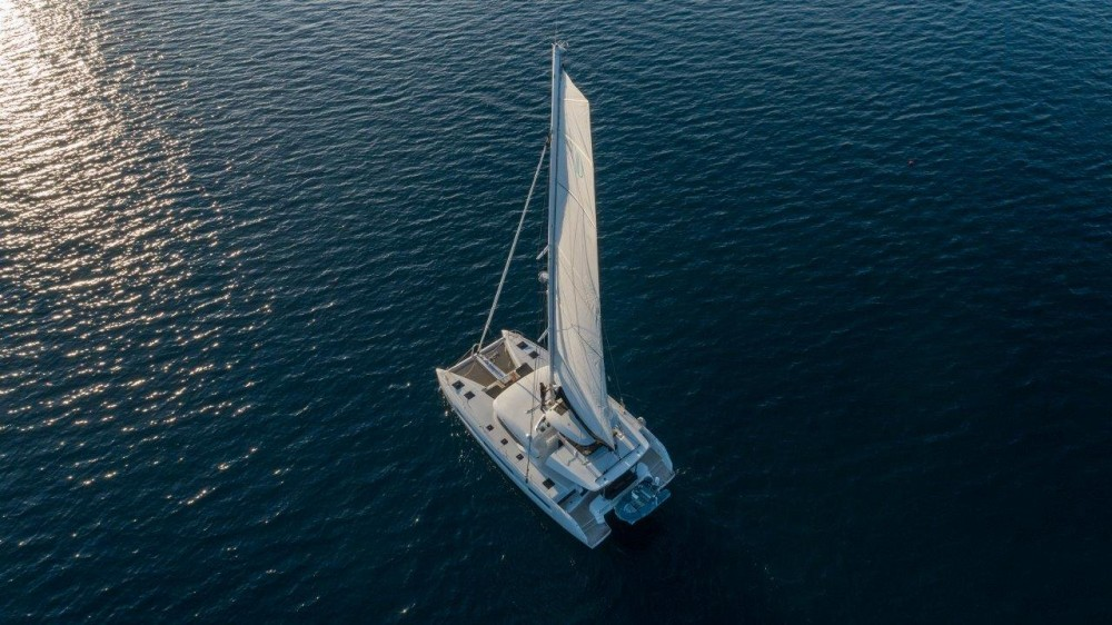 Location Catamaran à Split - Lagoon Lagoon 50 (2018)equipped with airconditioning (saloon + cabins), generator, watermaker, ice maker, dishwasher, washer/dryer, 2 SUP