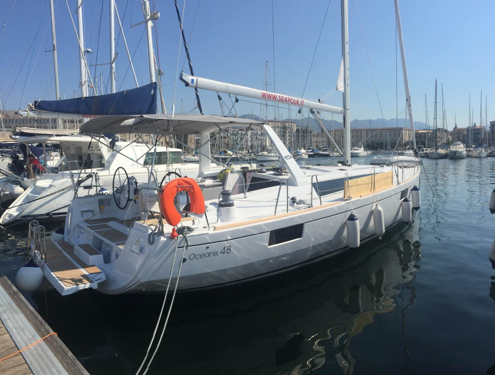 Bénéteau Oceanis 48 entre particuliers et professionnel à Marsala Marina
