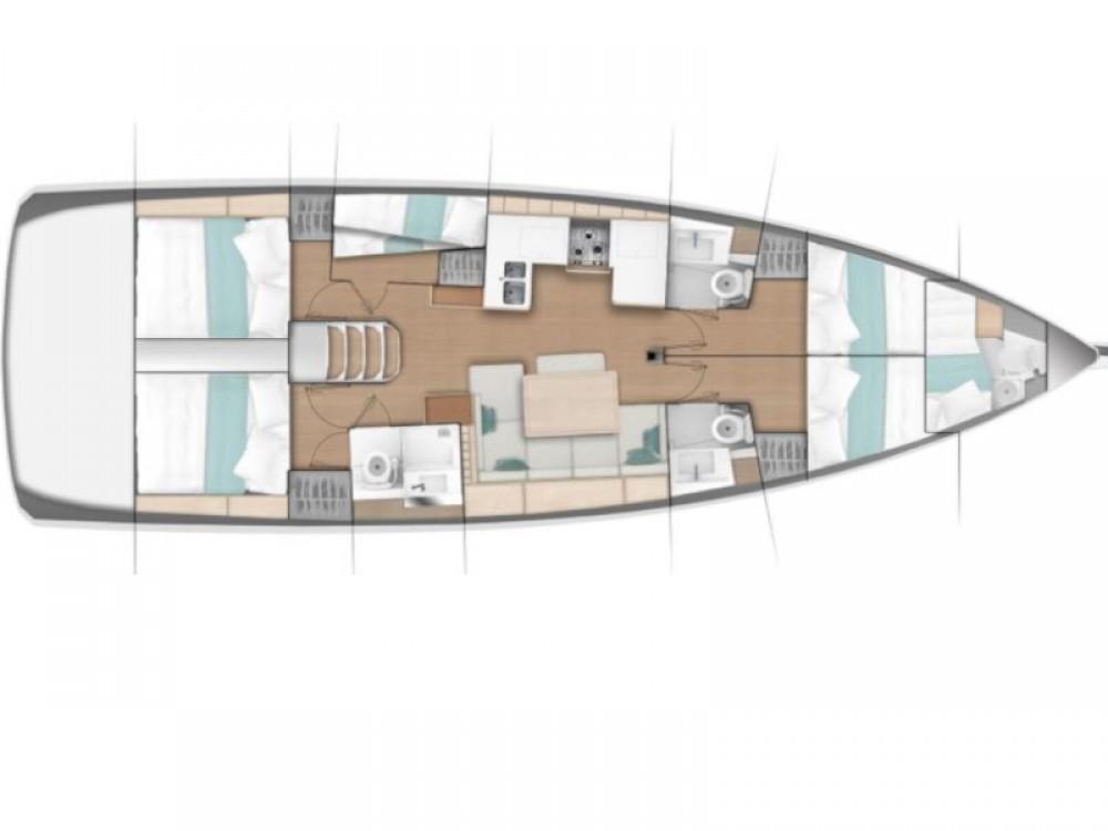 Location bateau  pas cher Sun Odyssey 490