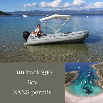 Location bateau Fun Yak Fun Yak 390 à Campomoro sur Samboat