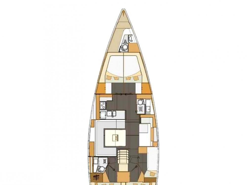 Location bateau Elan Elan 50 Impression à Murter sur Samboat