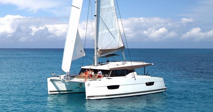 Location Catamaran à Komolac - Fountaine Pajot Lucia 40