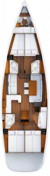 Location bateau Donji Seget pas cher Jeanneau 53