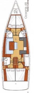 Location bateau Bénéteau Oceanis 48 à Komolac sur Samboat
