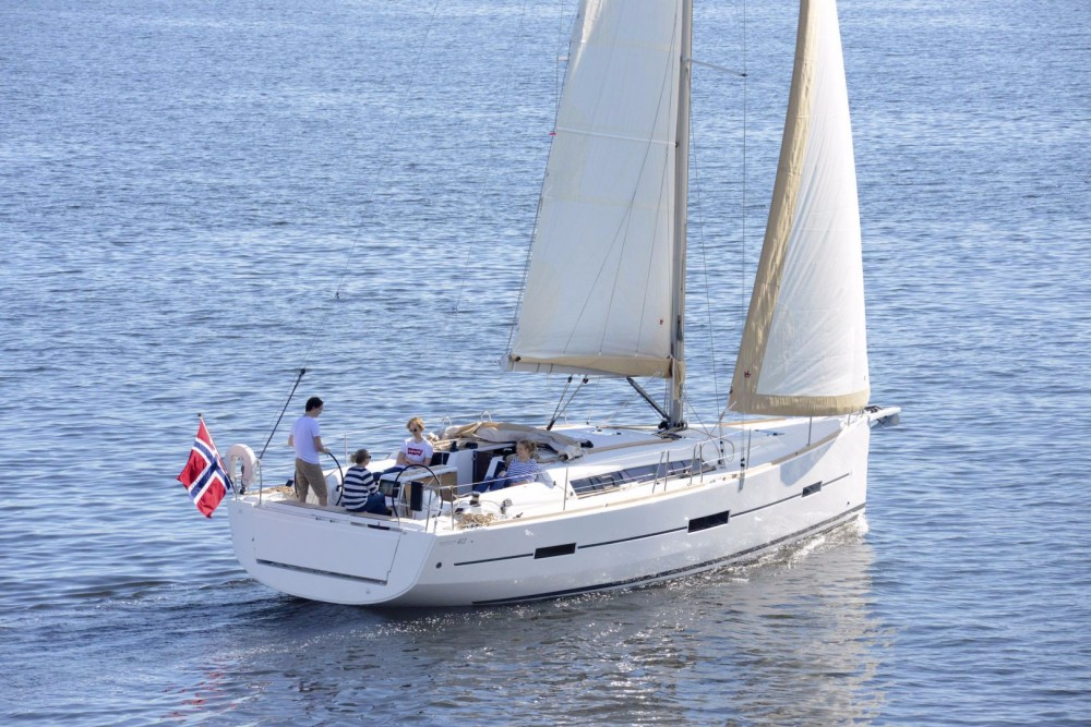 Location bateau Propriano pas cher Dufour 412