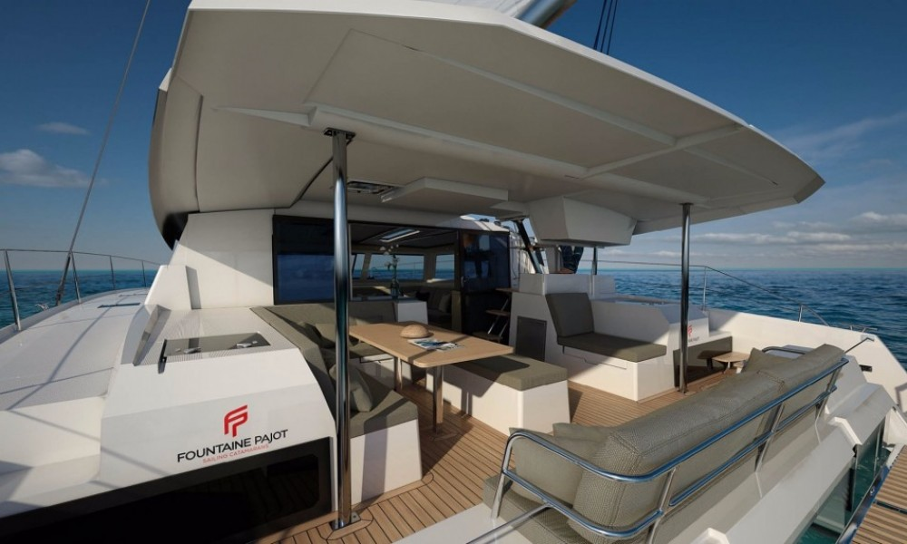 Location Catamaran à Saint-Mandrier-sur-Mer - Fountaine Pajot Saona 47