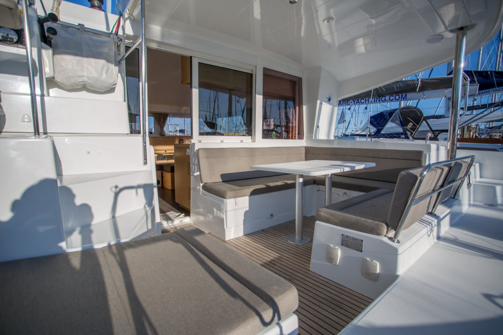 Location bateau Lagoon Lagoon 400 S2 - 4 + 2 cab. à Seget Donji sur Samboat