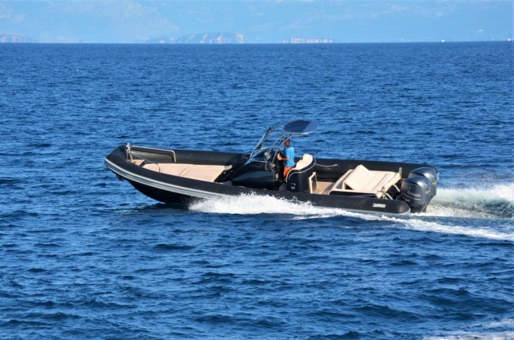 Location Semi-rigide à Gaios - Sea Water Smeralda