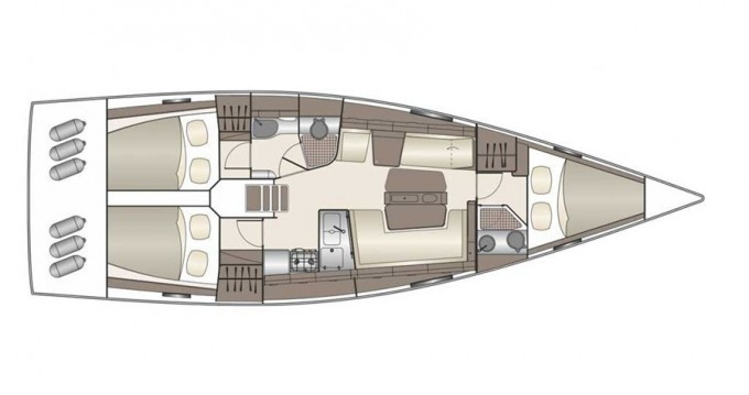 Location bateau Yerseke pas cher Dehler 42