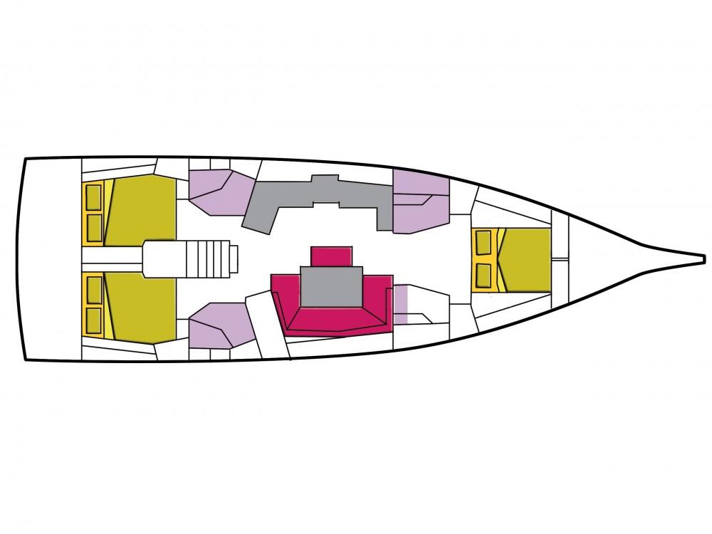 Louer Voilier avec ou sans skipper Bénéteau à Cala dei Sardi