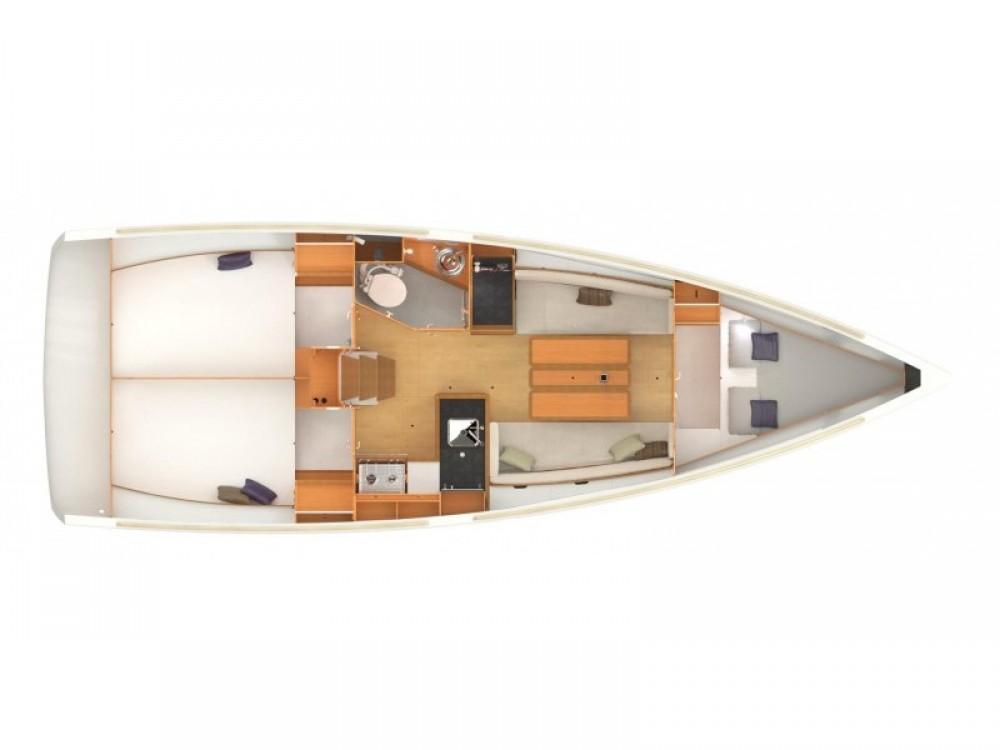Location yacht à Volos - Jeanneau Sun Odyssey 349 sur SamBoat