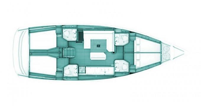 Location bateau Jeanneau Sun Odyssey 469 à Volos sur Samboat