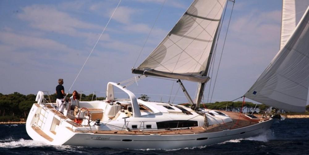 Location bateau Bénéteau Oceanis 50 Family - 5 + 1 cab. à Pirovac sur Samboat