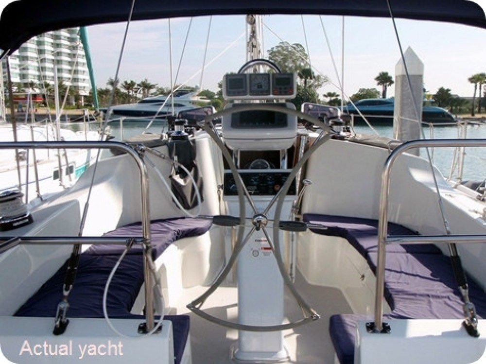 Location bateau เกาะสมุย pas cher catalina 375