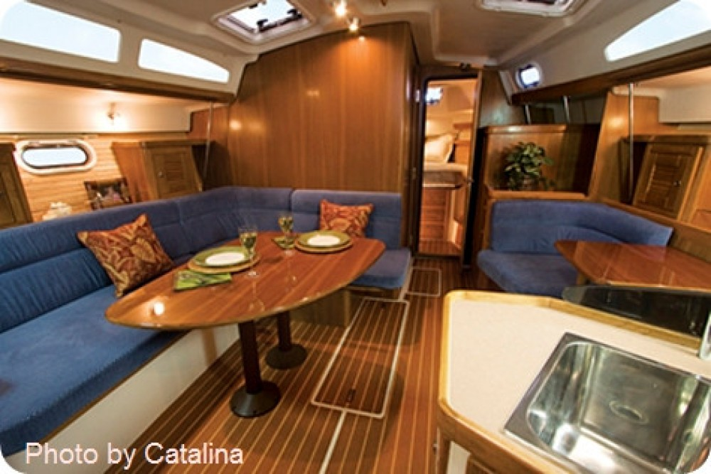 Location bateau Thaïlande pas cher catalina 375