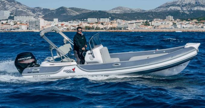 Louez un MV Marine 620 à Pointe-Rouge