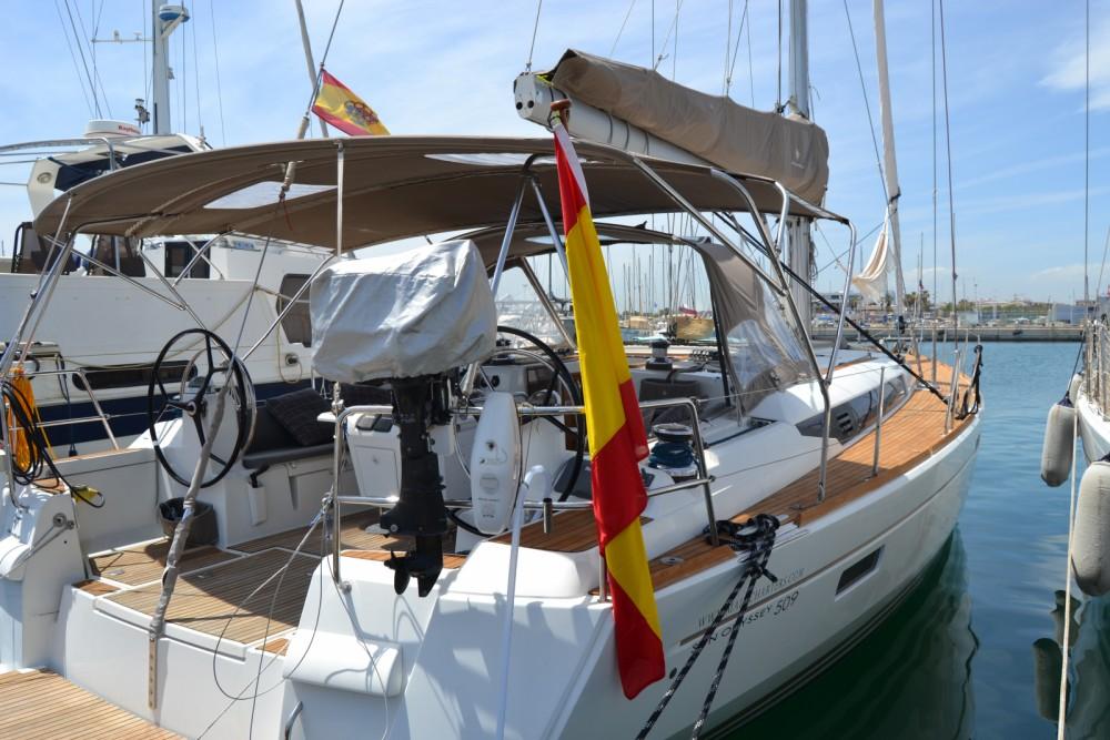 Location bateau Valence pas cher Sun Odyssey 509