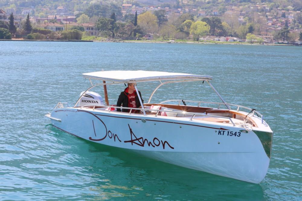 Location bateau handmade Don Amon à Kotor sur Samboat