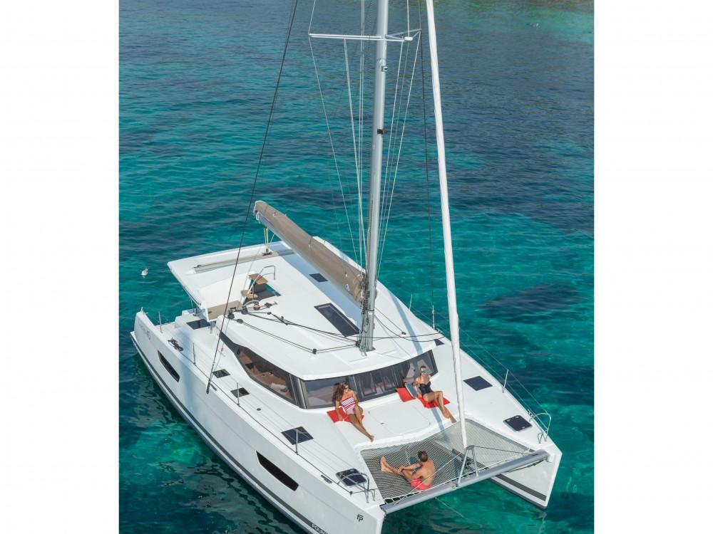 Location yacht à Mindelo - Fountaine Pajot Lucia 40 (4cab./2hds) sur SamBoat