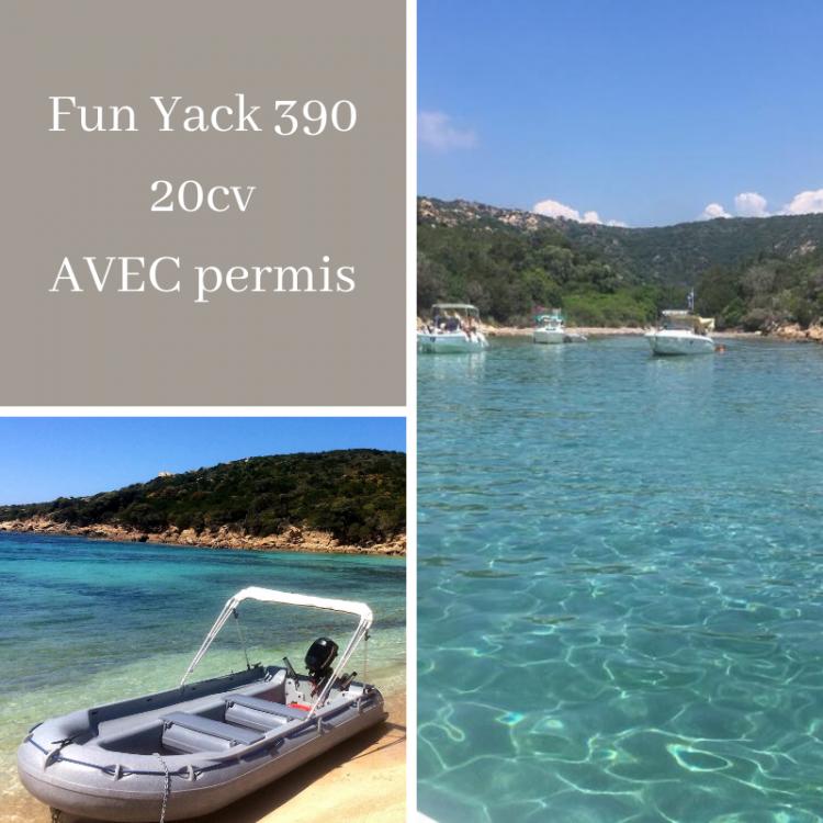 Location yacht à Belvédère-Campomoro - Fun Yak Fun Yak 390 sur SamBoat