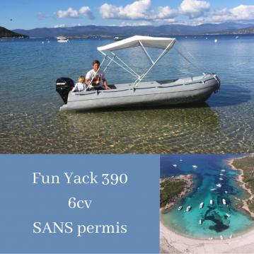 Location yacht à Serra-di-Ferro - Fun Yak Fun Yak 390 sur SamBoat