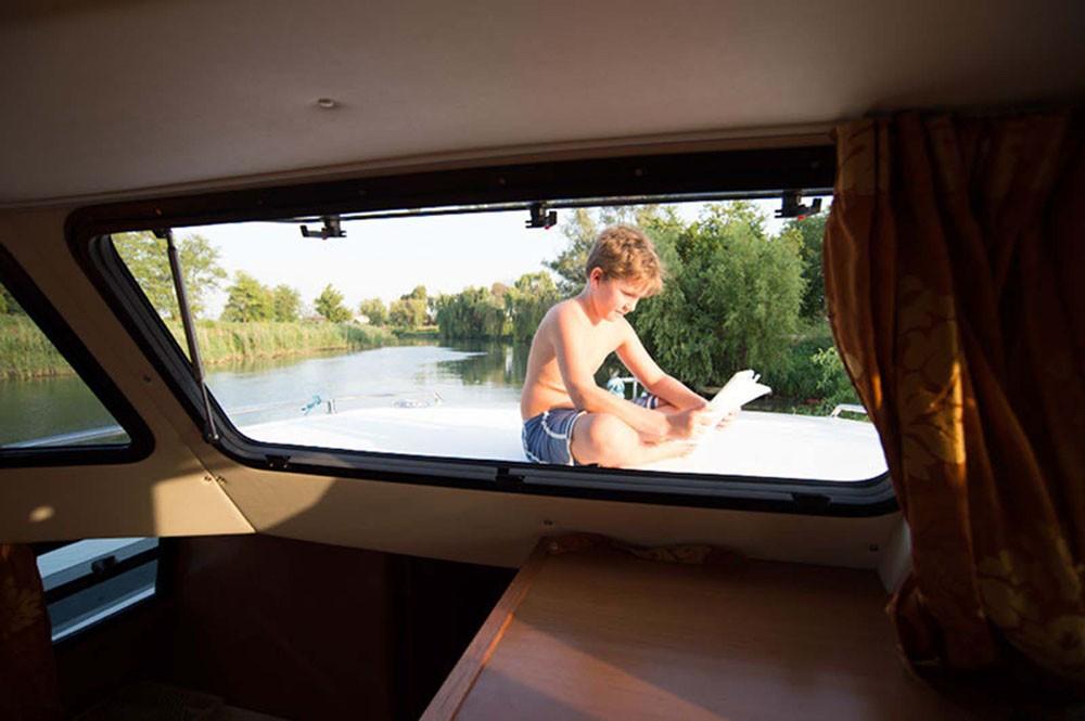 Location bateau Houseboat Holidays Italia srl Minuetto6+ à Casale sul Sile sur Samboat