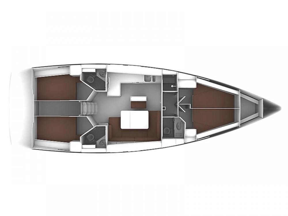 Location yacht à  - Bavaria Bavaria 46 Cruiser sur SamBoat