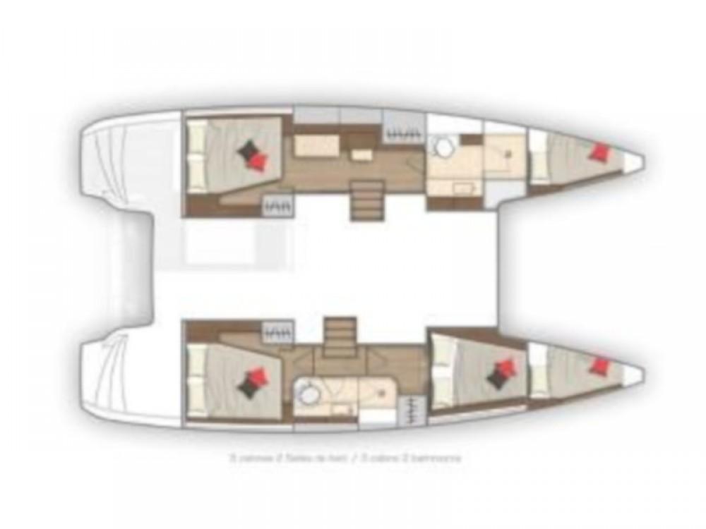 Location yacht à Šibenik - Lagoon Lagoon 40 (3+2 cab.) sur SamBoat
