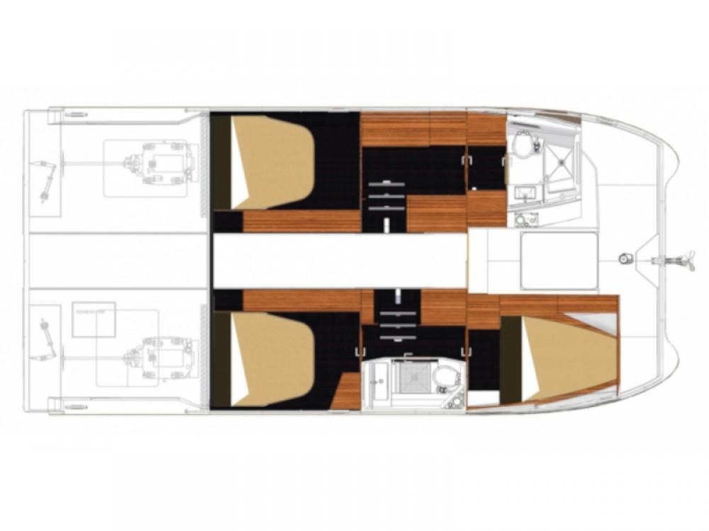 Location yacht à Sebenico - Fountaine Pajot MY 37- 3 cab. sur SamBoat