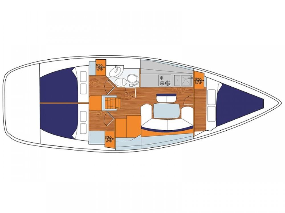 Location yacht à Leucade - Jeanneau Sunsail 38 sur SamBoat