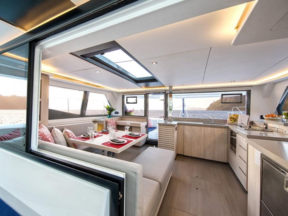 Location Catamaran à Road Town - Leopard Sunsail 454