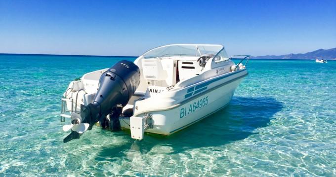 Location bateau Saint-Florent pas cher Leader 545