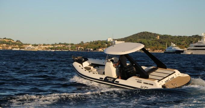 Location yacht à Port Grimaud - Wimbi Boats W7i sur SamBoat