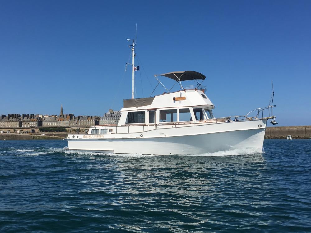 Location yacht à Saint-Malo - Grand Banks Grand Banks 42 Classic sur SamBoat