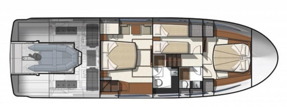 Location yacht à Capo d'Orlando - Jeanneau Prestige 500 S sur SamBoat